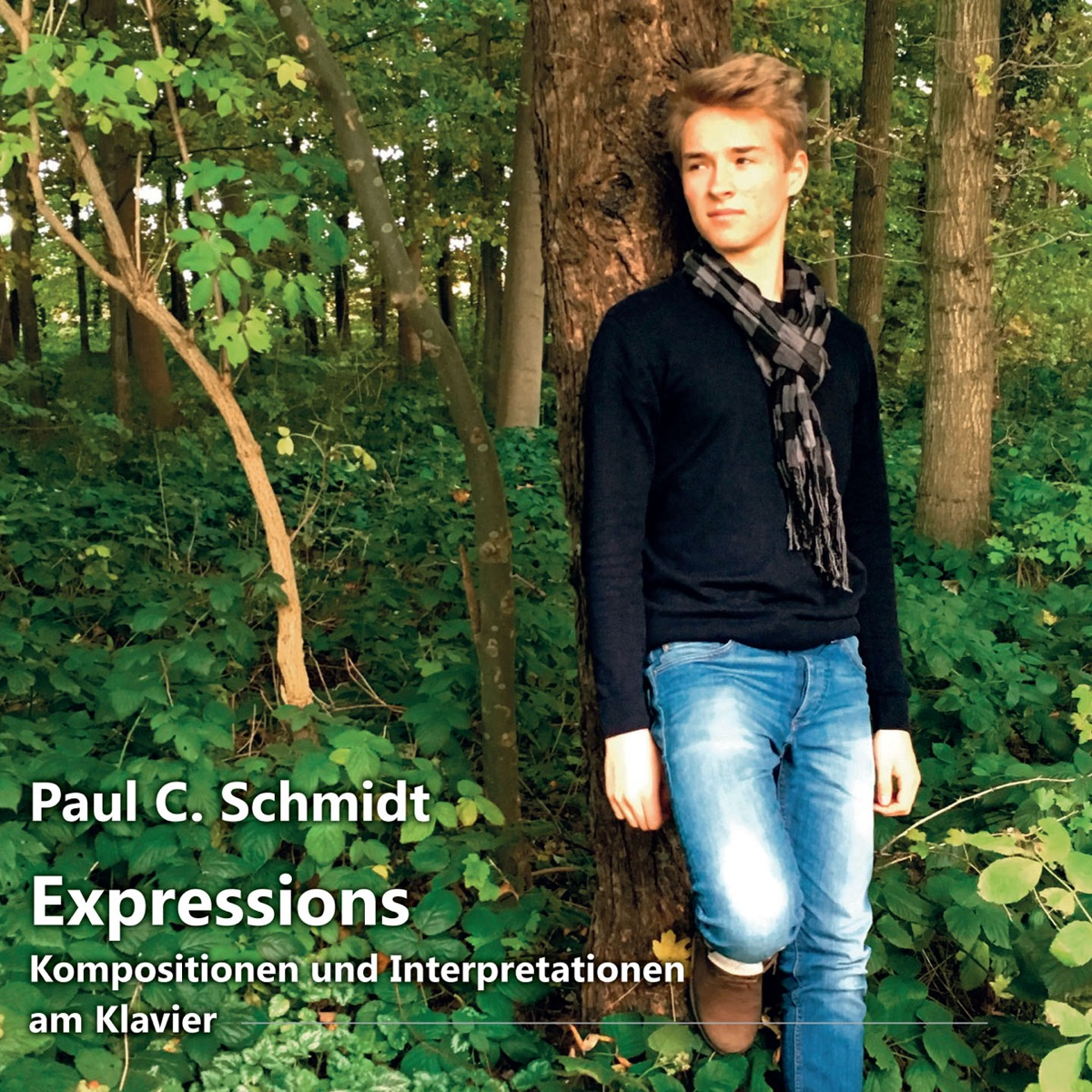 Expressions Kompositionen und Interpretationen am Klavier Paul C Schmidt CD cover