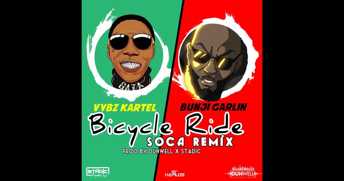 Bicycle Ride Soca Remix Single By Vybz Kartel Amp Bunji