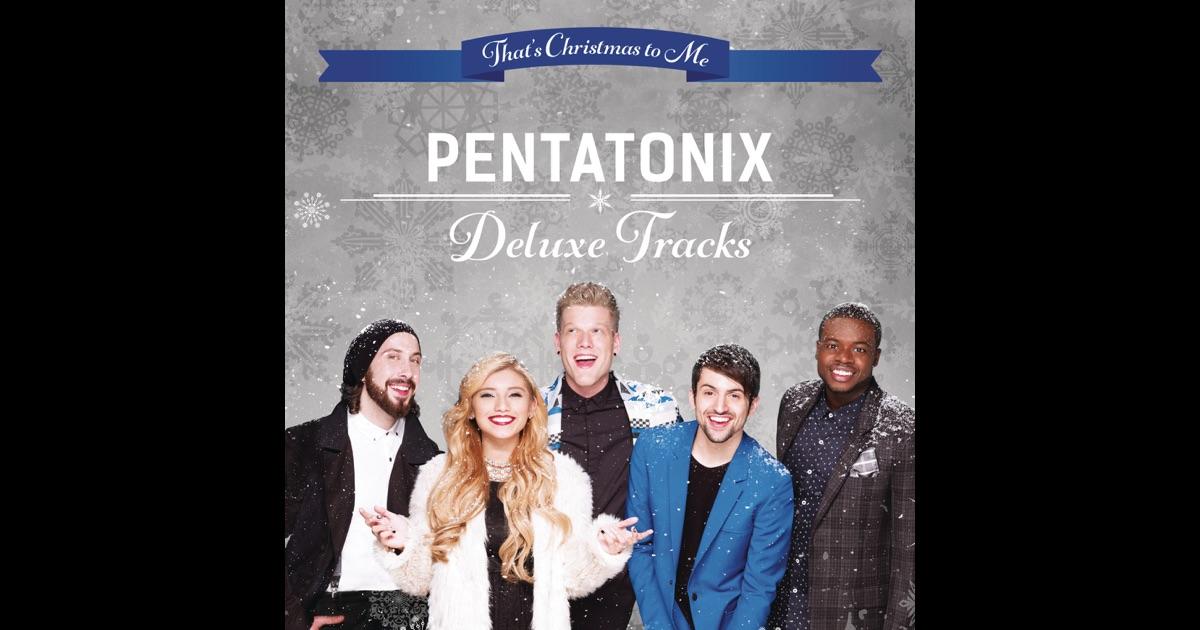 Pentatonix Christmas Deluxe Album image information