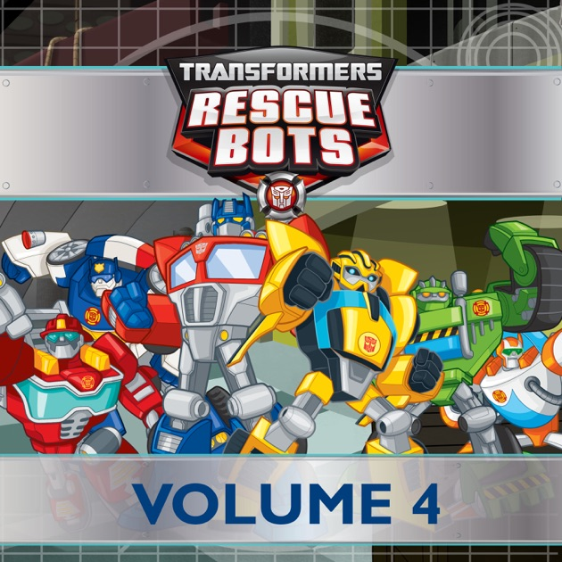 transformers rescue bots vol 4 on itunes