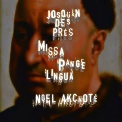 """Missa """"Pange lingua"""": Sanctus (Arr. for Guitar)"""