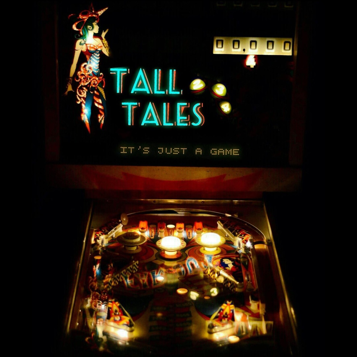 Its Just a Game - EP Tall Tales CD cover