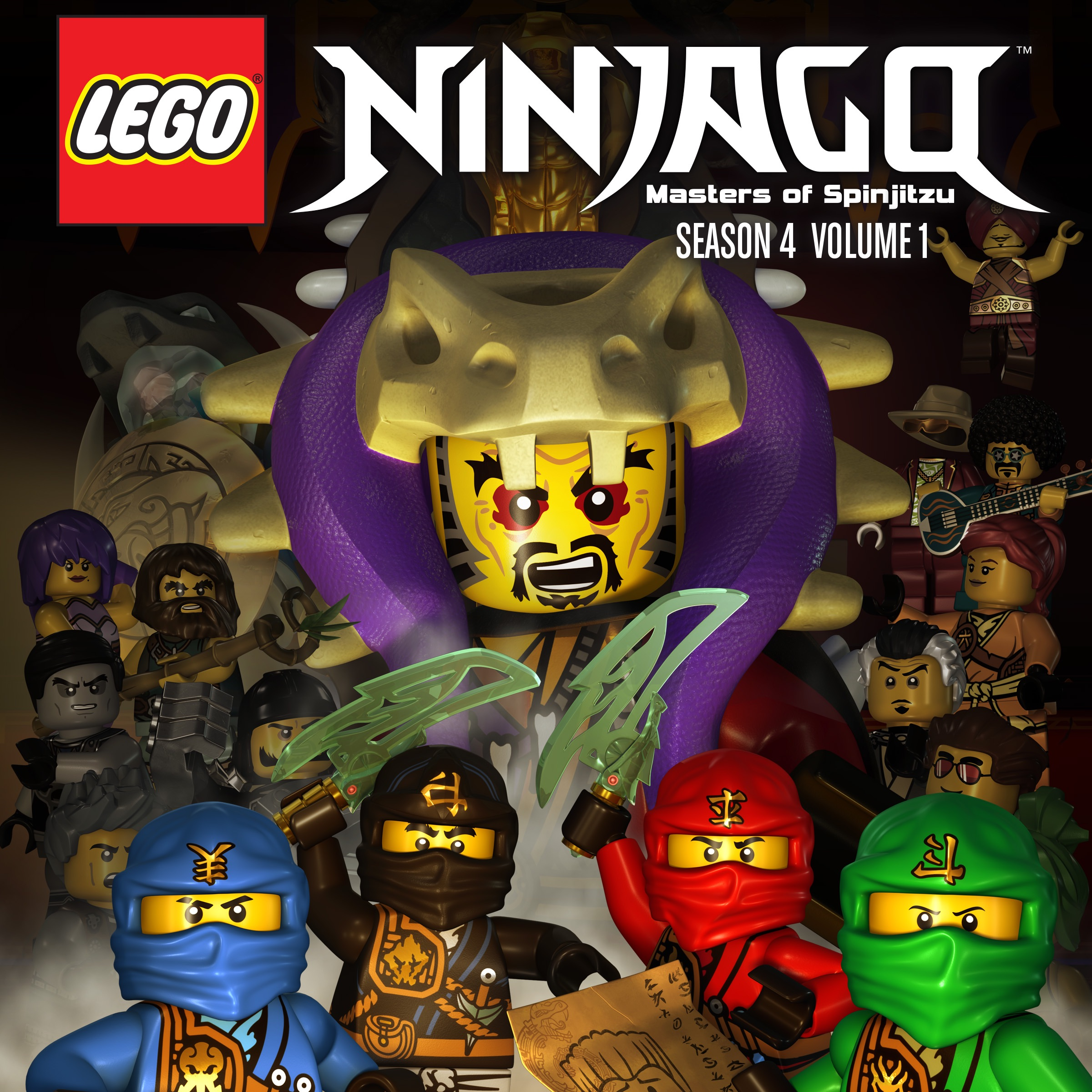 Lego ninjago season 4 vol 1 on itunes - Ninjago saison 4 ...