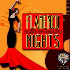 Flamenco NIghts: Passionate Fiery Spanish Guitar