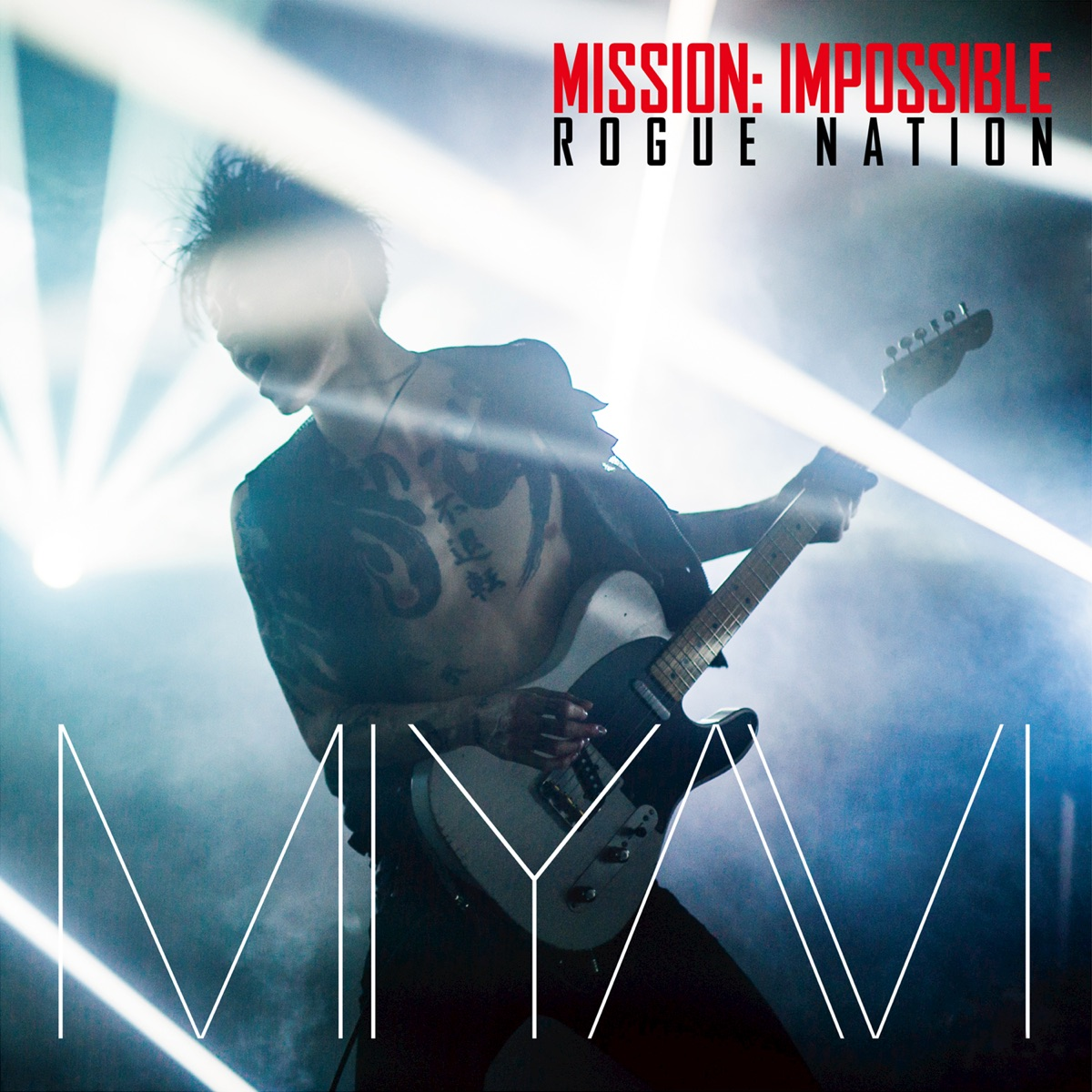 Mission Impossible Theme Single Album Cover By Miyavi