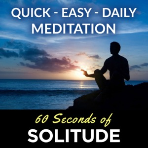 60 Seconds of Solitude | Mindfulness Mediation, Meditation for Beginners, Positive Energy, Peace + Love