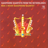 Koh-i-noor-saxophone Quartet - Background-Music for Non-Entertainment Use in Order to Cover Unwanted Noise (1988; rev. 1990)