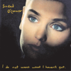 Sinéad O'Connor - Nothing Compares 2 U artwork