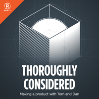 Podcast cover art for Thoroughly Considered