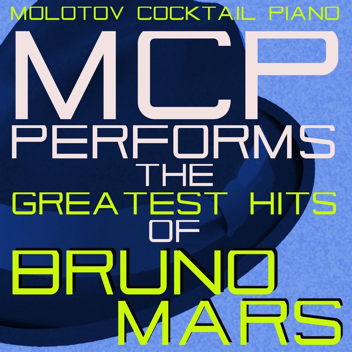MCP Performs the Greatest Hits of Bruno Mars Molotov Cocktail Piano CD cover