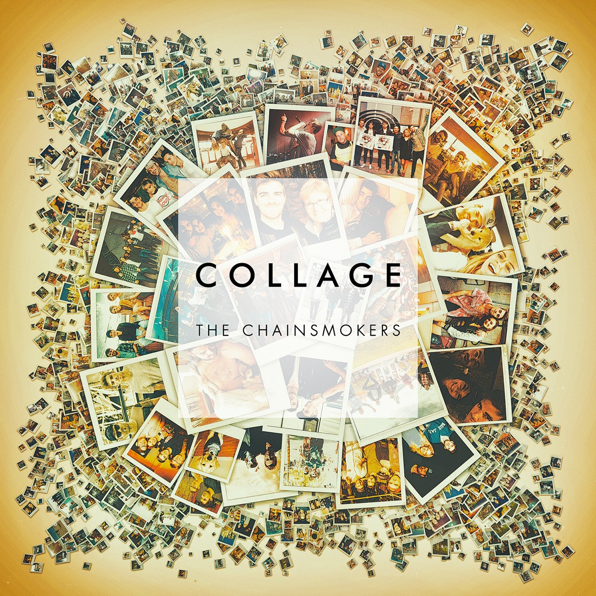 Collage - EP The Chainsmokers CD cover