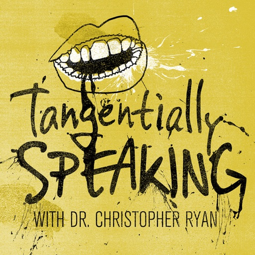 Cover image of Tangentially Speaking with Christopher Ryan