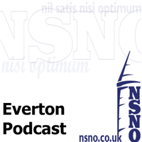 Podcast cover art for Everton podcast