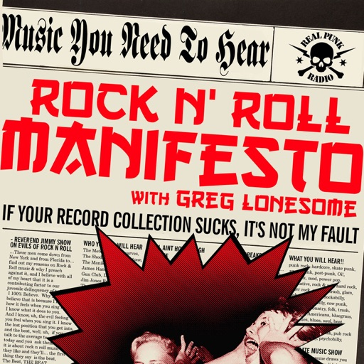 Cover image of Rock N Roll Manifesto (mp3)