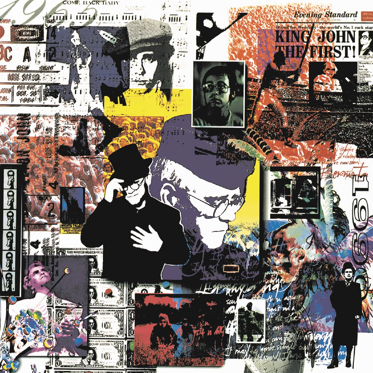 To Be Continued Box Set Elton John CD cover
