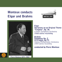 Monteux Conducts Elgar and Brahms