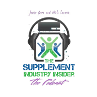 Podcast cover art for Supplement Industry Insider
