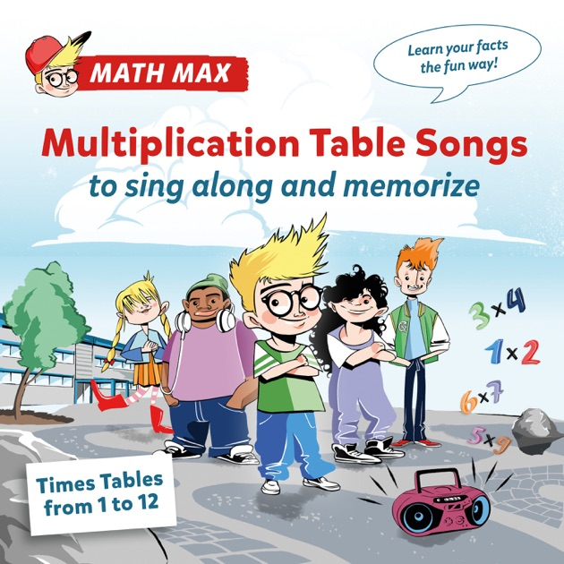 Multiplication table songs times tables from 1 to 12 to for 12 x table song