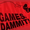 1UP.com - Games, Dammit! artwork