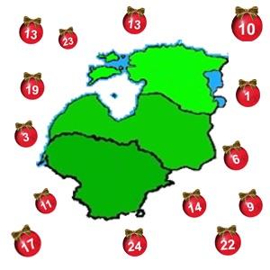 Weihnachten im Baltikum - Adventskalender