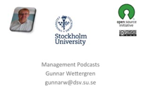 Management podcasts podcast