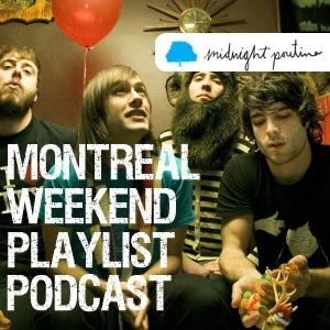 Montreal Weekend Playlist banner backdrop