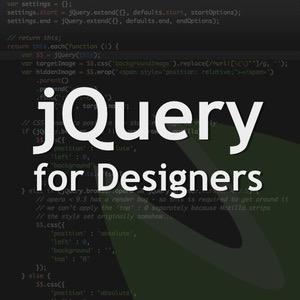 jQuery for Designers - screencasts and tutorials