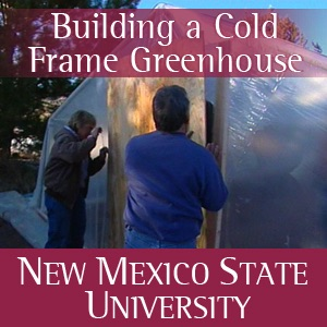 Building a Cold Frame Greenhouse - English/Navajo