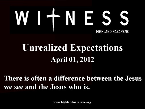 Unrealized Expectations