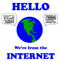 Hello, We're from the Internet podcast