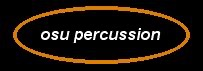 Oklahoma State University Percussion Podcast