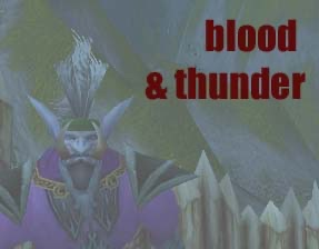 Blood & Thunder