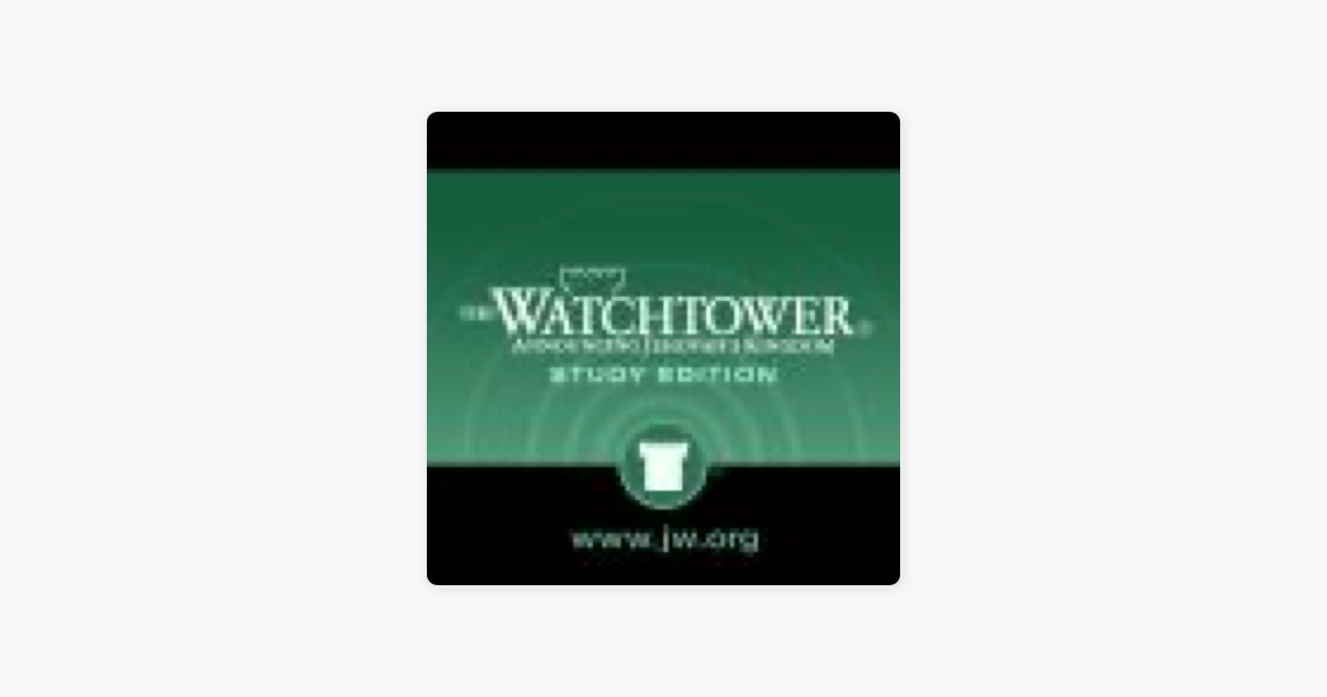 JW: Watchtower (Study) (wE MP3) on Apple Podcasts