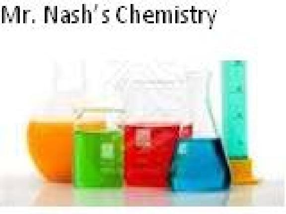 Nash's Chemistry Class