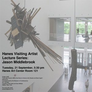 Hanes Visiting Artist Lecture Series - Visiting