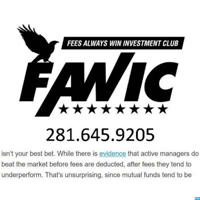 Fees Always Win Investment Club's Podcast podcast