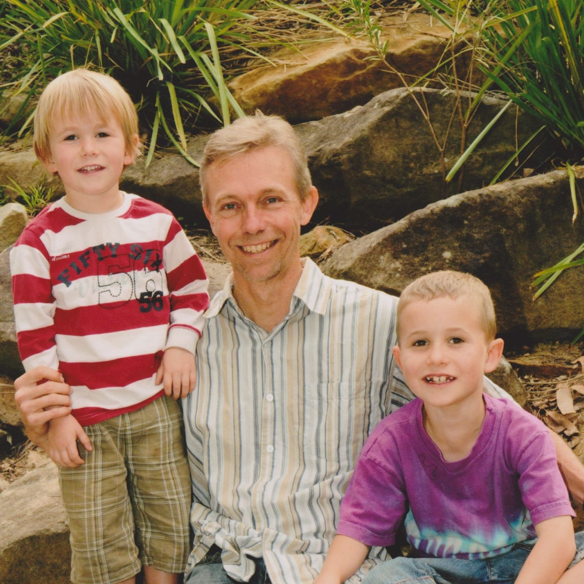 Dad and sons bedtime stories; FREE, part plot, part meditation