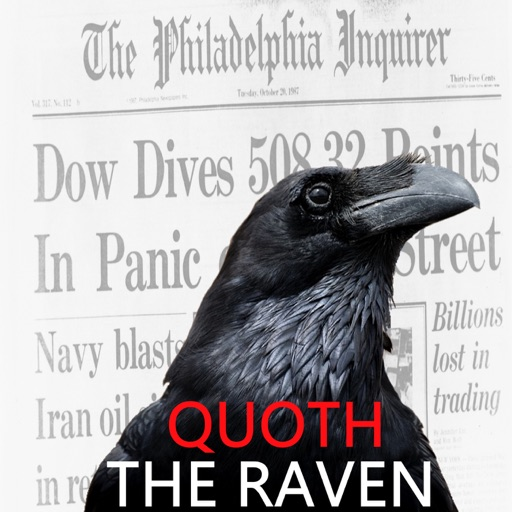 Cover image of Quoth the Raven
