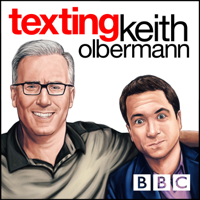 Podcast cover art for Texting Keith Olbermann