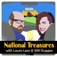 National Treasures with Laura Lexx and Will Duggan podcast