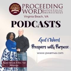 Proceeding Word PODCASTS
