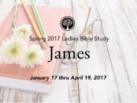 New Castle Bible Church: Women's Bible Study Podcast - James podcast