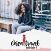 Chica Travel with Lelo artwork
