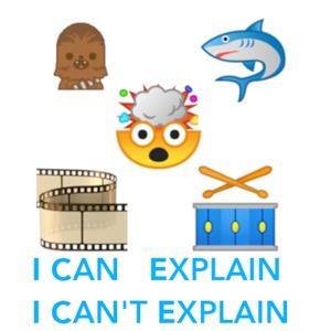 I Can Explain. I Can't Explain.