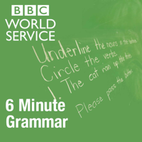 Podcast cover art for 6 Minute Grammar