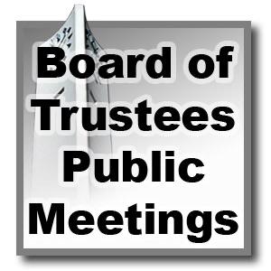 Board of Trustees Public Meetings - Fall 2006