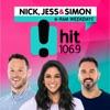 Nick, Jess & Ducko - Hit106.9 Newcastle artwork