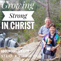 Growing Strong in Christ–Steve Hall podcast