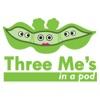 Three Me's in a Pod artwork