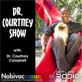 The Dr  Courtney Show on Pet Life Radio (PetLifeRadio com) on Apple
